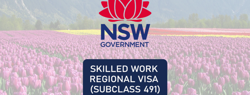 NSW 491 visa NSW 491 visa nomination criteria
